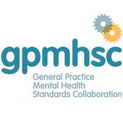 logo: General Practice Mental Health Standards Collaboration (GPMHSC)