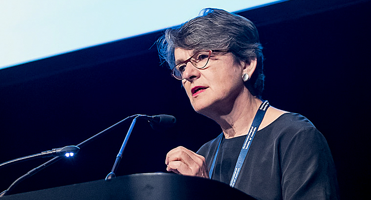 ACSQHC Clinical Director Prof Anne Duggan launched the Colonoscopy clinical care standard at the Australian Gastroenterology Week 2018 conference in Brisbane.
