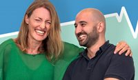 GPs Dr Gillian Singleton and Dr Billy Stoupas are hosting the podcast, and hope it will inspire other GPs.