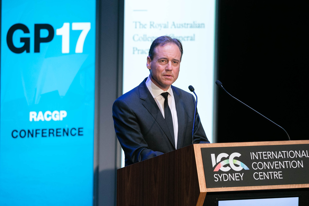 Federal Health Minister Greg Hunt