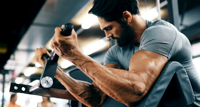Psychologist Dr Scott Griffiths said the best place to start when trying to understand muscle dysmorphia 'is to think of it as a reverse form of anorexia'.