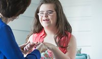 Down Syndrome Australia Chief Executive Dr Ellen Skladzien believes can be beneficial for GPs to communicate with people with Down syndrome more directly, rather than through family members or carers.