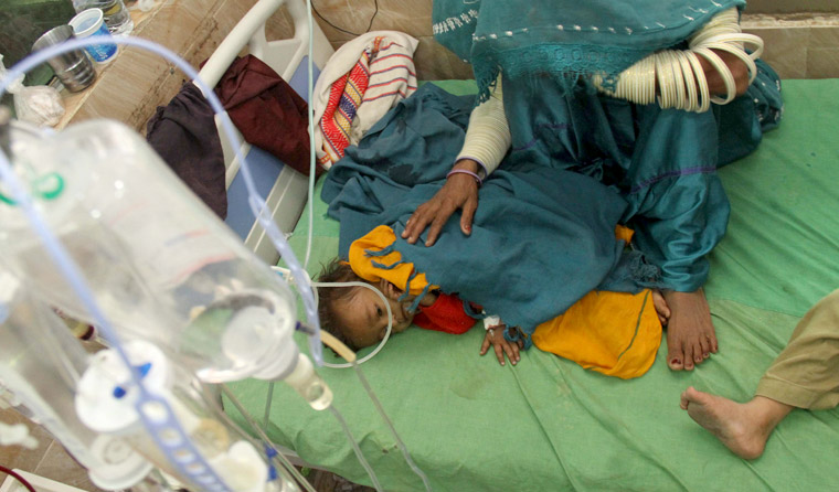 Infant with drug-resistant typhoid