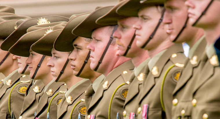 New research into the impact of service provides guidance towards better support of Australian veterans and service personnel. (Image: Arthur Edwards/AAP)