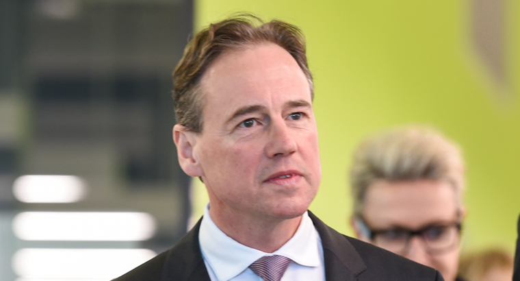 Federal Health Minister Greg Hunt said patients will pay a maximum of $39.50 per script for the medications. (Image: Penny Stephens)