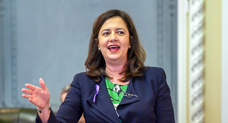 Queensland Premier Annastacia Palaszczuk supports the framing of abortion as a health issue rather than a legal one. (Image: Dan Peled)