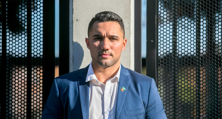 Isaiah Dawe, ambassador of the Inner West Sydney Youth and Health Wellbeing Plan, wants to help young people who have been through the same struggles as himself.