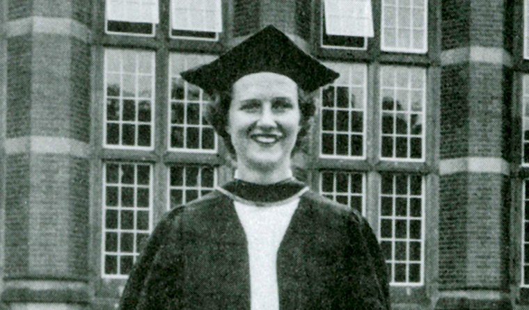Dr Hollands undertook medical training at Birmingham University in the 1950s, when she estimated there was around six male students for every female.