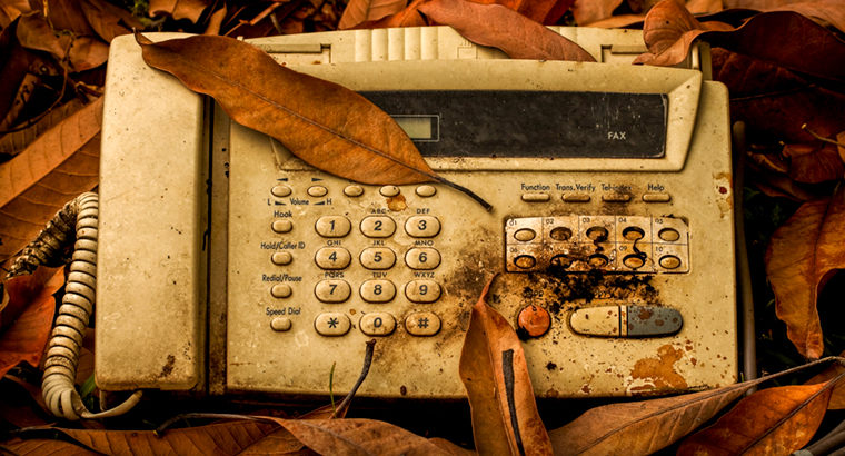 Dr Nathan Pinskier wants to see the fax machine 'consigned to the scrapheap of history'.