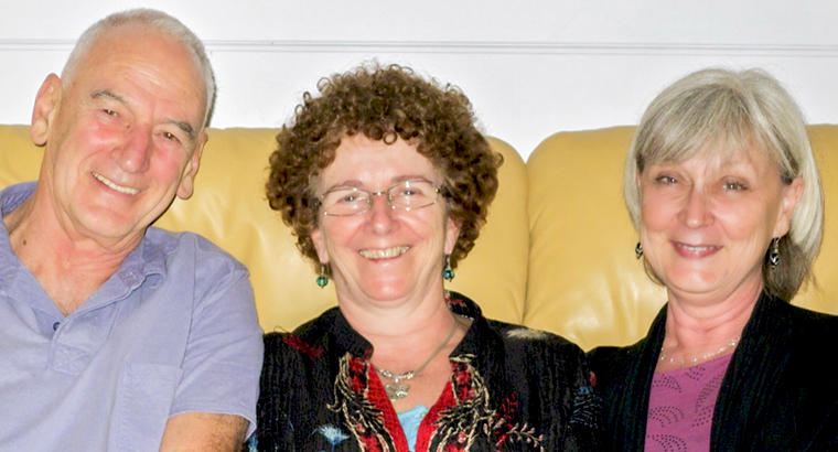 The Creative Doctors Committee: Dr Howard Gwynne, Dr Marg Gottleib and Dr Jan Orman
