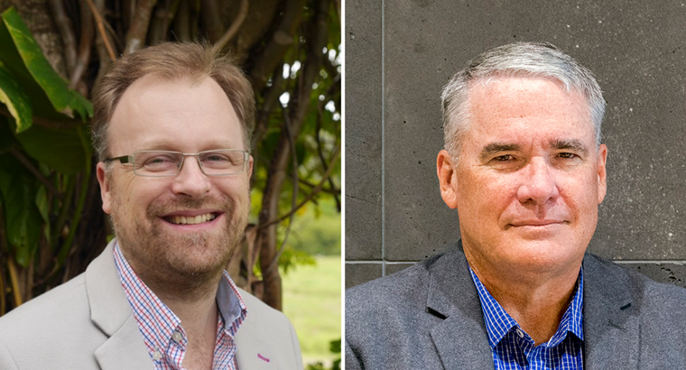 L–R: Dr Edwin Kruys believes there is a gap between expectations and quality in the complaints process; Dr Evan Ackermann feels the inquiry and response will leave doctors disappointed.
