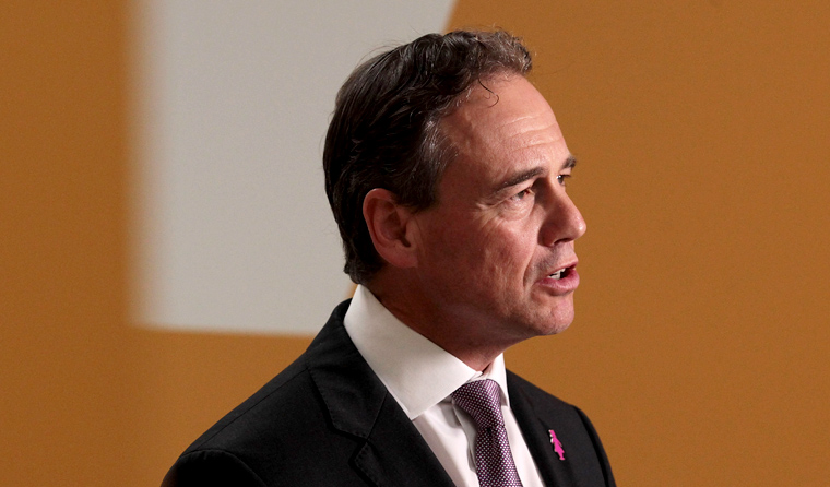 Federal Health Minister Greg Hunt said the elimination of rubella is 'testimony to the success' of Australia's National Immunisation Program. (Image: Stefan Postles)