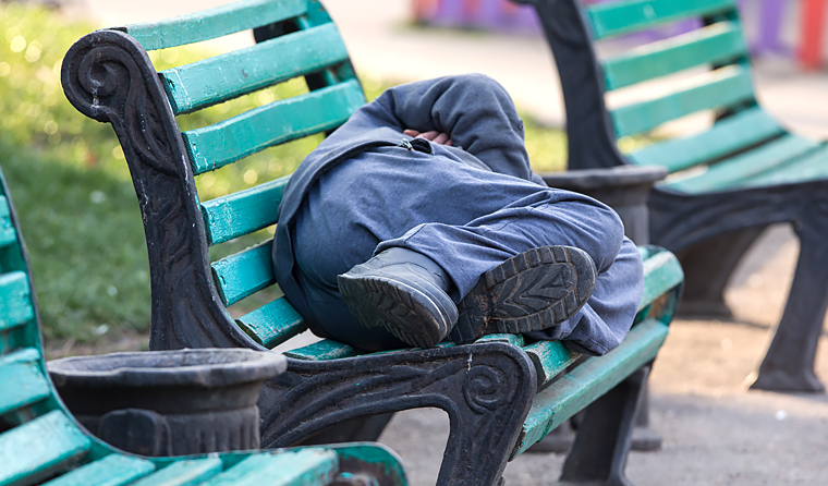 A new AIHW report has used specialist homeless services data to build a picture of a typical 'rough sleeper'.