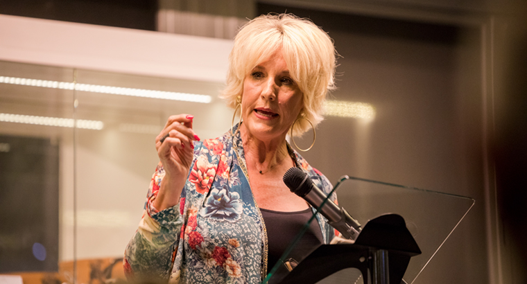 Erin Brockovich said she continues to lend her voice to various issues because she believes in justice.