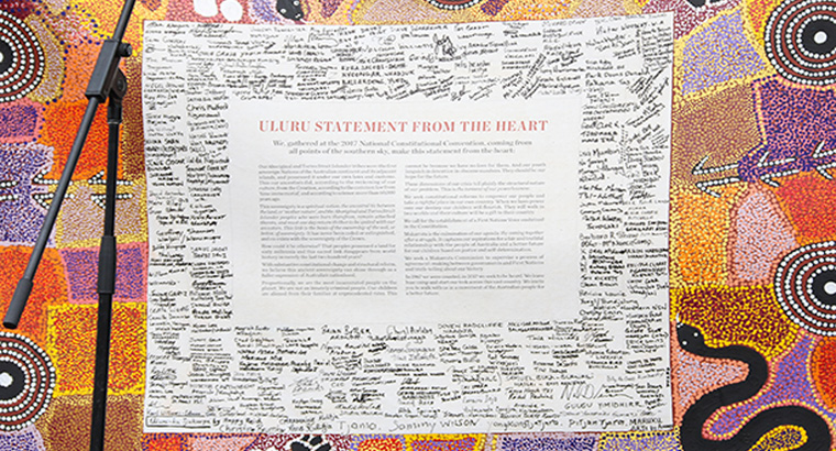 The RACGP perceives the Uluru statement as a pathway to self-determination for Aboriginal and Torres Strait Islander peoples