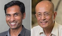 Professor David Peiris (left) and Professor Siaw-Teng Liaw will use their research grants to strengthen productivity and performance in the healthcare sector.