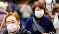A case of the virus has been confirmed in Japan, with a man treated for pneumonia testing positive for coronavirus. (Image: AAP)