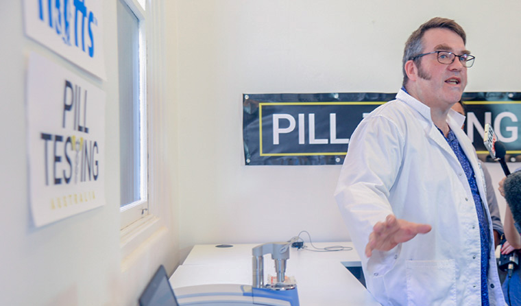 The ABC debate show and its panel tackled the contentious issue of pill testing.