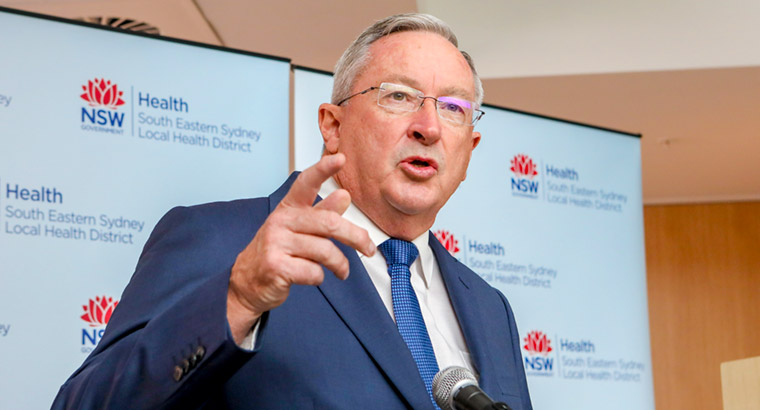 NSW Health Minister Brad Hazzard has been clear in his belief that a uniform approach to mandatory reporting is needed throughout the country.