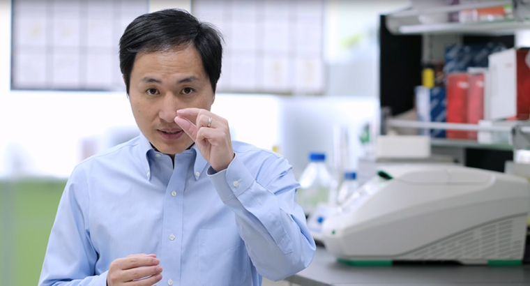 Associate Professor He Jiankui has defended his controversial experiments into genetically edited babies.