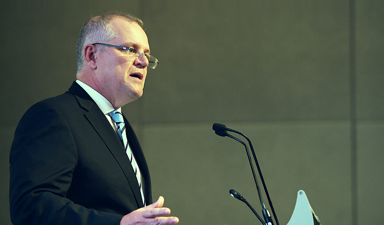 Treasurer Scott Morrison has said the Federal Government can fund the National Disability Insurance Scheme without a Medicare levy hike. (Image: AAP/Dan Himbrechts)