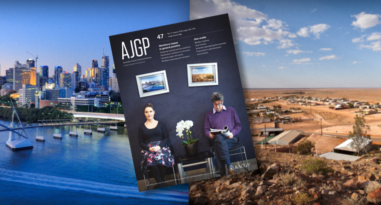 The August issue of AJGP focuses on workplace issues in general practice.