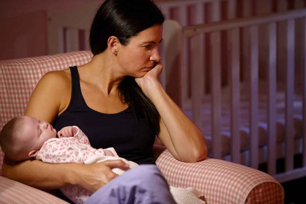 Perinatal depression and anxiety is often also linked to issues of family violence.